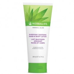 Herbal Aloe - Lait Quotidien Apaisant Mains et Corps